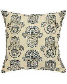 """Sentiments """"Hamsa"""" Set of 2 Decorative Pillows  $39.90 - $49.90"""