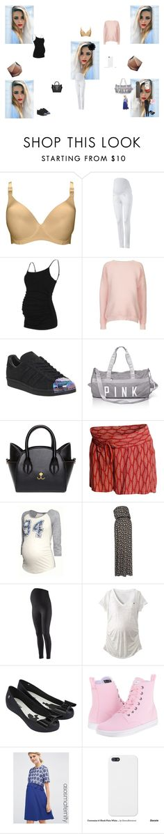 """go to my mom house for few days"" by maelysa971 ❤ liked on Polyvore featuring Lorna Drew, Isabella Oliver, Topshop, adidas, H&M, Liz Lange, Melissa, Dr. Martens and ASOS"