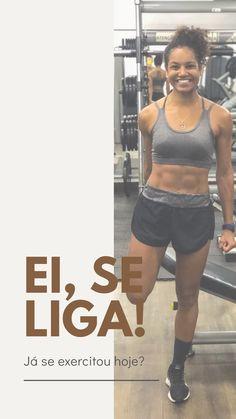 Fazer atividade física mantém a saúde em dia e eleva a autoestima! Bra, Live, Sports, Swimwear, Fashion, Pro Life, Physical Activities, Lifestyle, Hs Sports