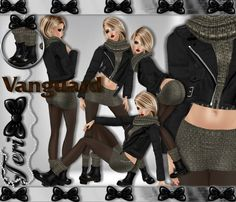 ✿ ¸. • * ¨ * • ☆JUST OUT OF PEER!☆ ¸. • * ¨* • ✿  ✮VANGUARD SKIRT BUNDLE: http://www.imvu.com/shop/product.php?products_id=31941771  * Comes with skirt, jacket with sweater, and boots with socks.  ✿My Full Catty: http://www.imvu.com/shop/web_search.php?manufacturers_id=95572994  ✿SellingBeauty Catty: http://www.imvu.com/shop/web_search.php?manufacturers_id=102695625  ✿☆ ¸. • * ¨ * • ☆JUST OUT OF PEER! ¸. • * ¨* • ☆✿None