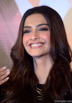 Sonam Kapoor smiles looking gorgeous at song launch