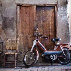 Super vintage motorbike