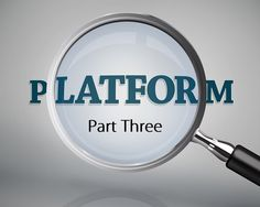 How to develop your own Author Platorm.