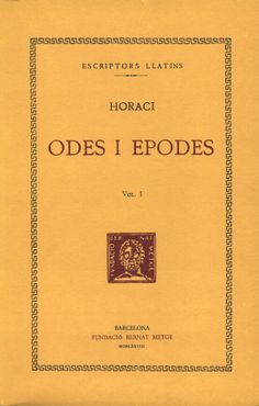2n Bat. Odes. Horaci
