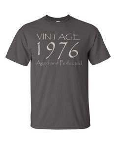 40th Birthday Gift for Men or Women Vintage 1976 by UpShirtsCreek