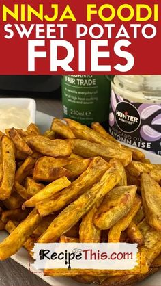 Homemade Sweet Potato Fries, Making Sweet Potato Fries, Crispy Sweet Potato, Sweet Potato Chips, Best Vegetable Recipes, Homemade Vegetable Soups, Easy Recipes For Beginners, Easy Healthy Recipes, Dairy Free Recipes