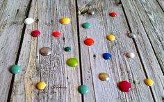 Enamel dots caseros #scrapbooking #tutorial #enameldots