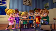 alvin and the chipmunks 2015 tv series | PGS Hits Distribution Landmark for 'Alvinn!!! and the Chipmunks'