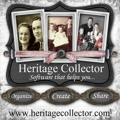 Heritage Collector Storybook...start getting your photos and multi-media organized with us today for free!