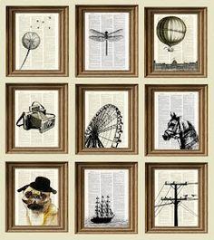 Book art idea