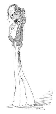 Robert Louis Stevenson by David Levine Robert Louis Stevenson In The New York… Jekyll And Mr Hyde, American Illustration, Robert Louis Stevenson, Film Base, Guy Drawing, David, January 26, Gallery, Drawings