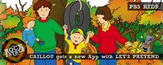 PBS KIDS Releases the New CAILLOU LET'S PRETEND App...