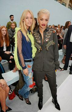 fragmentos de moda: LONDON FASHION WEEK PRIMAVERA/VERÃO 2015 E OS VIPS...