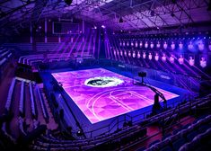 Anyone want a backyard basketball court?  Nike creates first full-size #LED #basketball court in Shanghai for training with Kobe Bryant