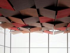 Tectonique ceiling collection by Oberflex, Spettacolare!