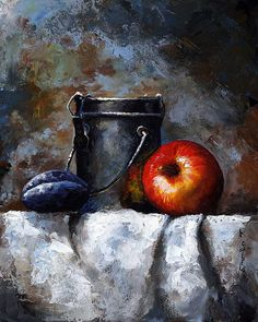 Still Life 10 by Emerico Imre Toth - Still Life 10 Painting - Still Life 10 Fine Art Prints and Posters for Sale