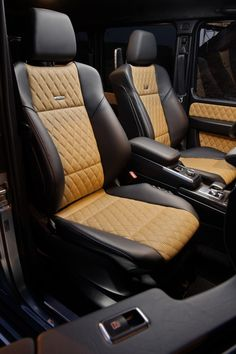 Mercedes-Benz G63 AMG Seats