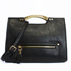 Birklie Structured Satchel | Discount Handbags & Purses | Handbag Heaven #handbagheaven