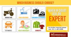 To solve your #business related queries, Click: http://www.getdistributors.com/mail_response.html