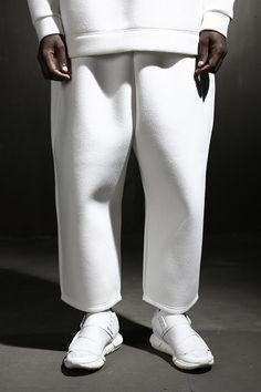 Neoprene Cropped Pants
