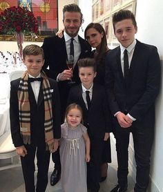The Beckham family  by fashionairy