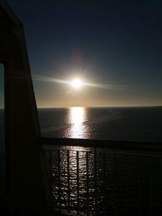 Op de boot naar texel. 24 augustus 2016