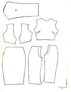 Simple pattern I made for the FR2 and FR2013 body. Includes a crop top and…