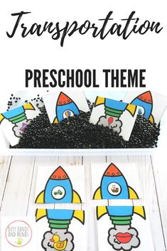 This transportation unit is full of hands on, play based learning activities in . Rhyming Preschool, Me Preschool Theme, Transportation Theme Preschool, Phonics, Literacy Worksheets, Literacy Centers, Math Literacy, Teaching Kindergarten, Preschool Learning