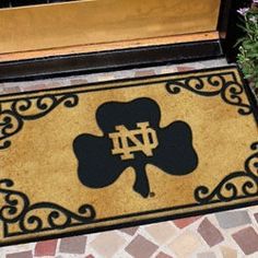 Notre Dame Fighting Irish Door Mat