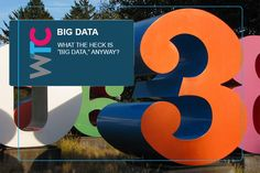 What the heck is Big Data? What The Heck, Big Data, Letters, Letter, Lettering, Calligraphy