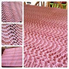 Havskumteppe – Trine's blog Blanket, Knitting, Crochet, Blog, Threading, Tricot, Breien, Stricken, Ganchillo