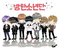 ♡Bangtan Boys♡ #fanart