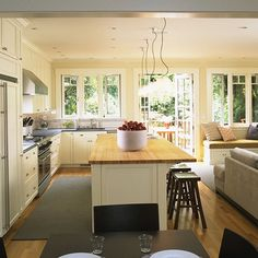 Open Concept Kitchen Living Room Design Ideas, Pictures, Remodel, and Decor - page 11