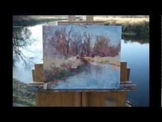Hope you like this video, it is of me painting locally. The weather forecast was bad, snow etc., and so I wanted to get out an do something before it came. T...