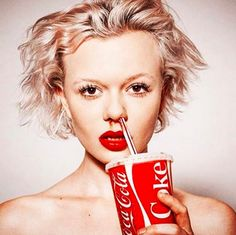 COKE by Tyler Shields | Available in two sizes | Info@guyhepner.com | Art Photography, Shields Photography, Creative Art, Contemporary Art