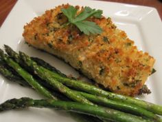 Panko Crusted Salmon - easy and delicious