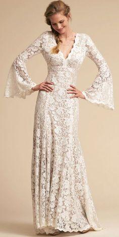 Courtesy of BHLDN wedding dresses