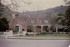 Judy Garland-The Stone Canyon home as it looks today.