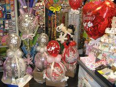 Geldgeschenke zur Hochzeit mit Luftballons und ohne.. Bei Partyzauber Rheine in der Münsterstr. 79