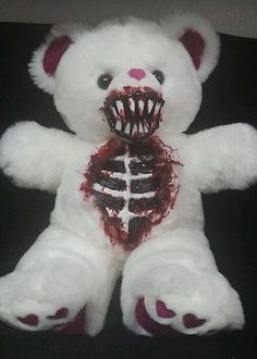 Valentines Day Zombie Teddy Bear Halloween Haunted House Prop