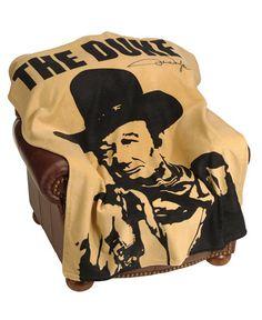 """John Wayne """"The Duke"""" Fleece Blanket"""