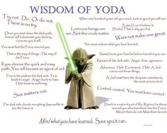 Yoda's Words of Wisdom