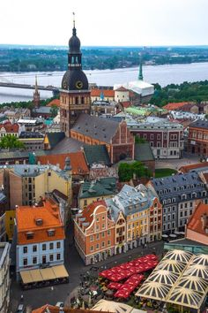 "Next stop on the ""Moscow to the Med"" trip - the radiant city of Riga, Latvia!"