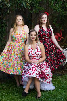 Plus Size Vintage Dresses, Vintage 1950s Dresses, Vintage Skirt, Plus Size Dresses, Pin Up Outfits, Pin Up Dresses, Summer Dresses, Handmade Dresses, Vintage Fashion