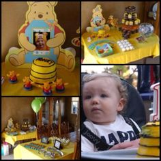 Winnie the Pooh Theme Birthday Party Its kind of a hobby of