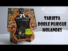 Luisa PaperCrafts: Double Duch Fold Card for Halloween