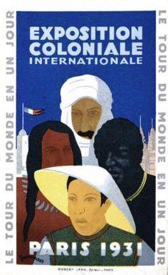 Affiche de l'Exposition coloniale, Victor Jean Desmeures (c) Droits réservés © Musée national de l'histoire et des cultures de l'immigration, CNHI
