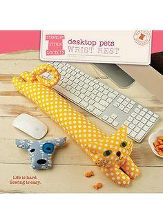 Desktop Pets Wrist Rest | McCall's Patterns