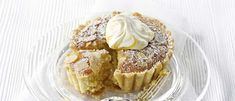 If you like Bakewell tart you'll love this lemon version. A crisp shortcrust shell is filled with lemon curd and a rich egg and ground almond sponge. Serve warm straight from the tin or at room temperature with a nice cup of tea.