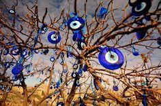 the evil eye tree...cappadocia-turkey photo by me(merve ongoren)
